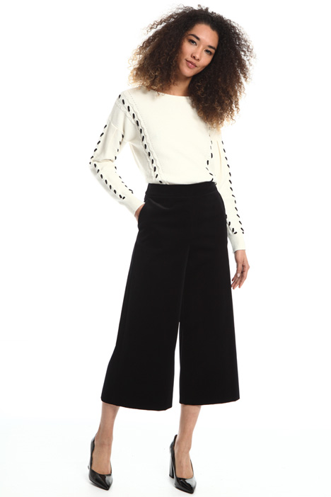 Wide-leg cropped trousers Intrend