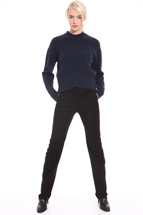 Pantalone in flanella di lana Intrend