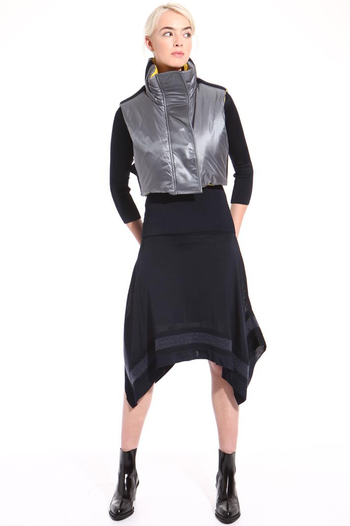 Sleeveless bomber jacket Intrend