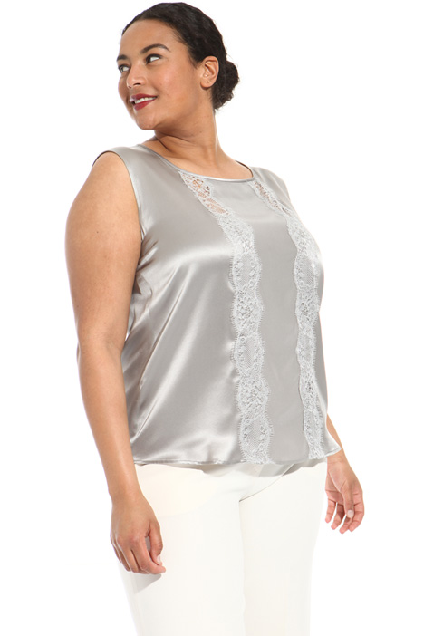 Silk satin top Intrend