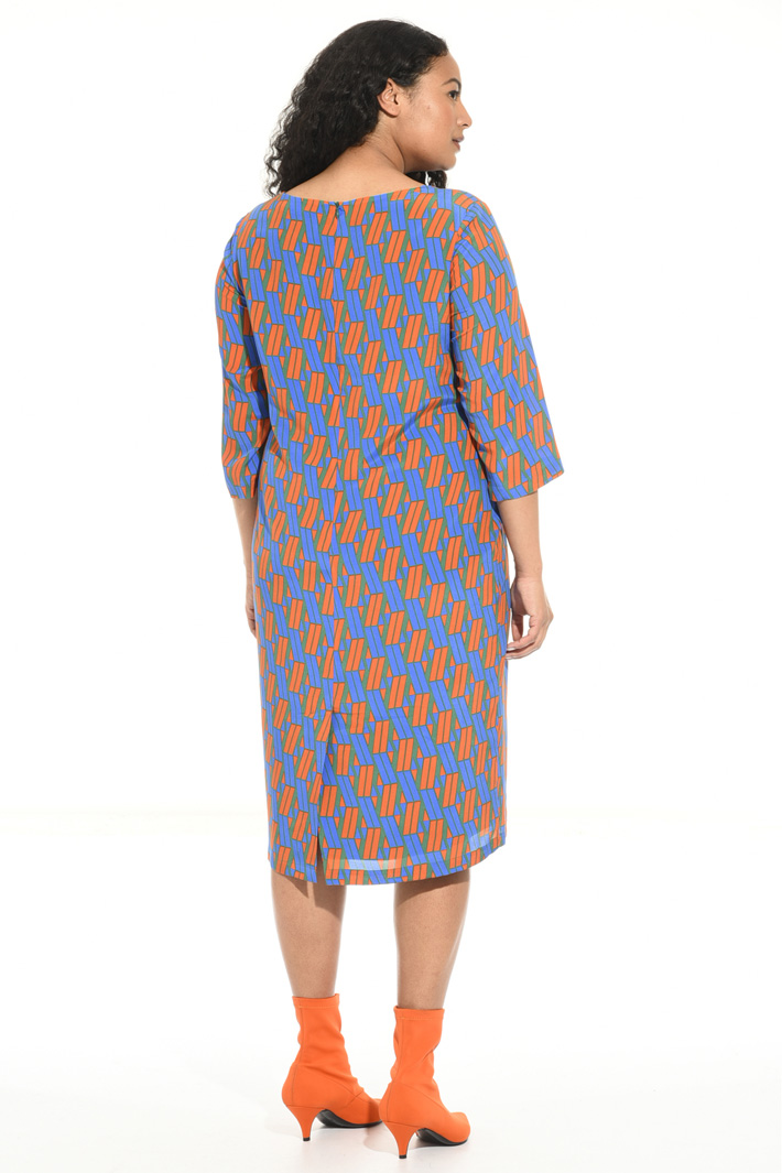 Pure silk crepe dress Intrend
