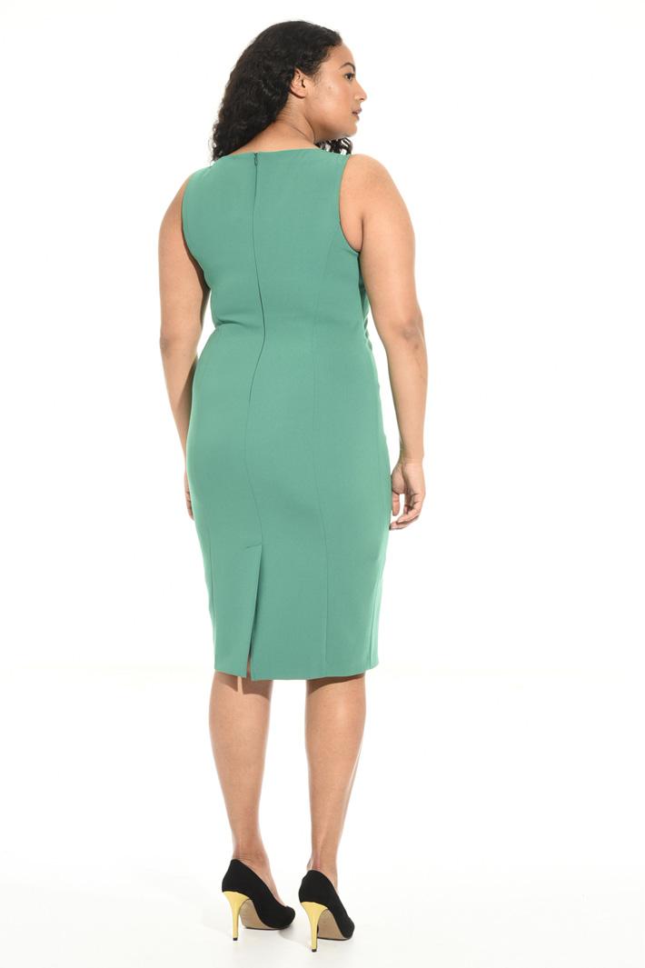 Square neck dress Intrend