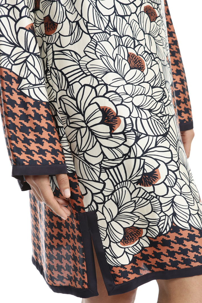 Printed dress Intrend