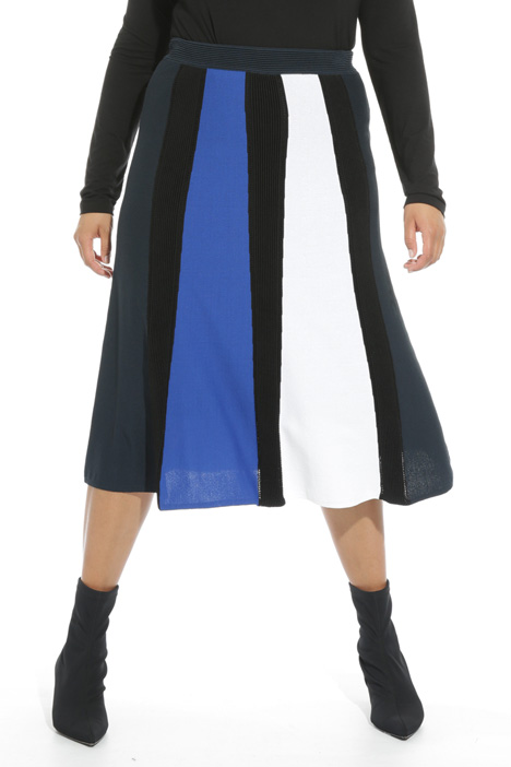 Matt viscose skirt Intrend