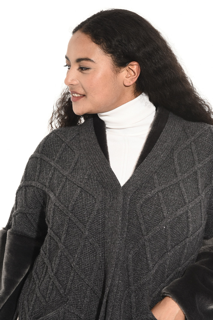 Knitted jacket Intrend