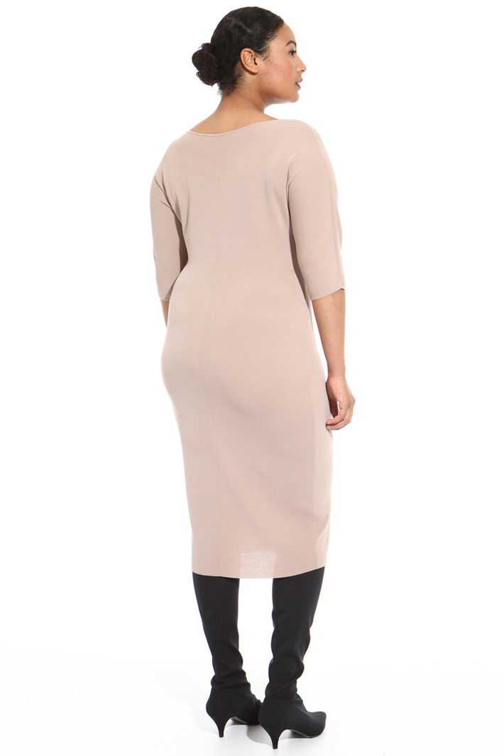 Knit sheath dress Intrend