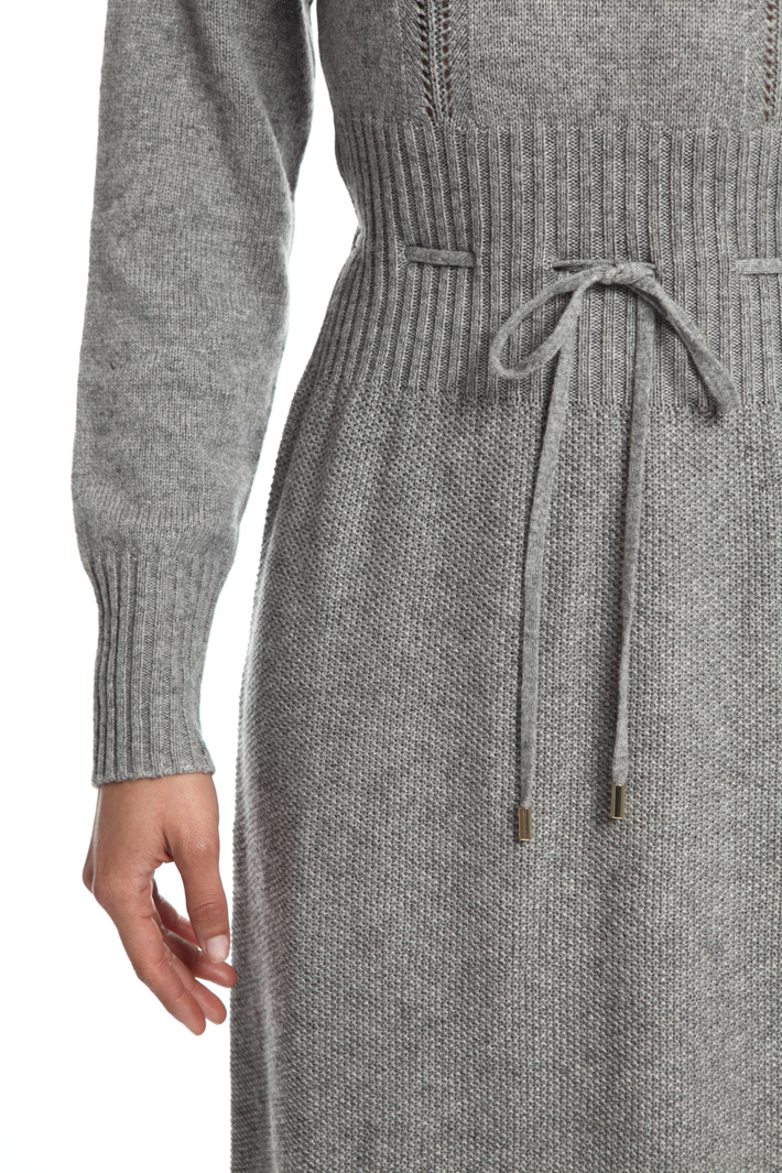 Viscose and wool dress Intrend