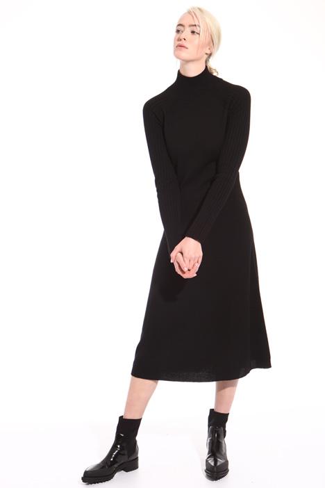 Midi virgin wool dress Intrend