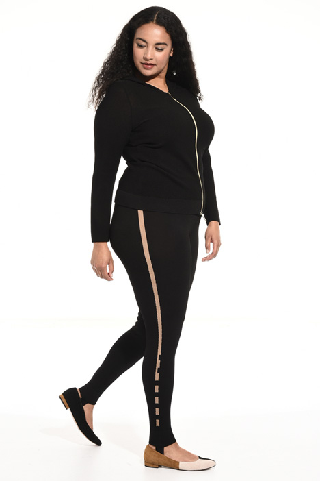 Leggings in viscosa crêpe Intrend