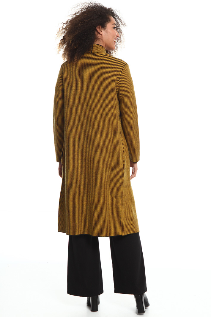 Long knitted coat Intrend