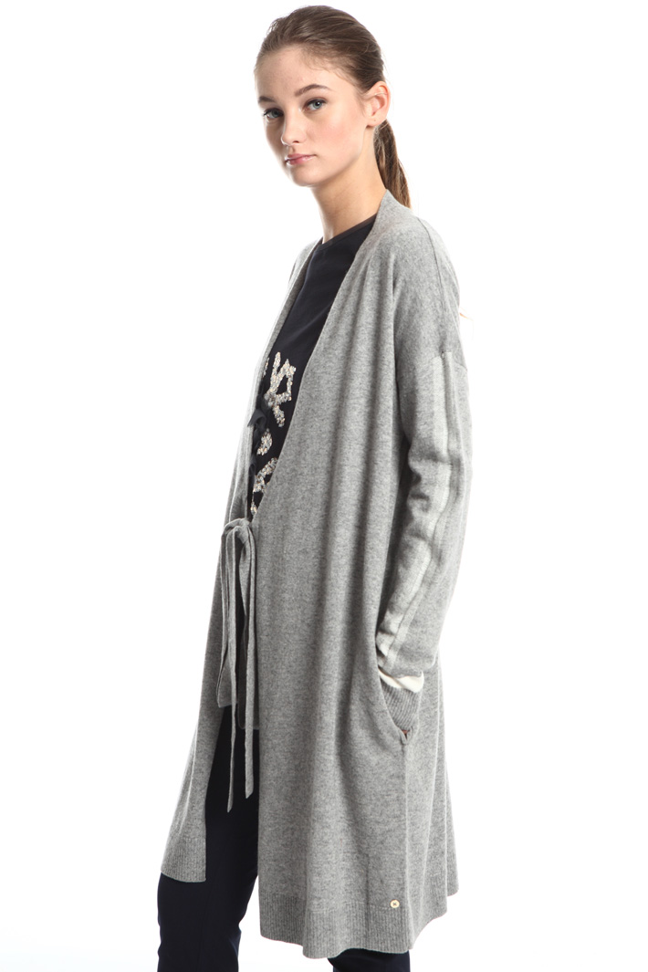 Wool and cotton cardigan Intrend