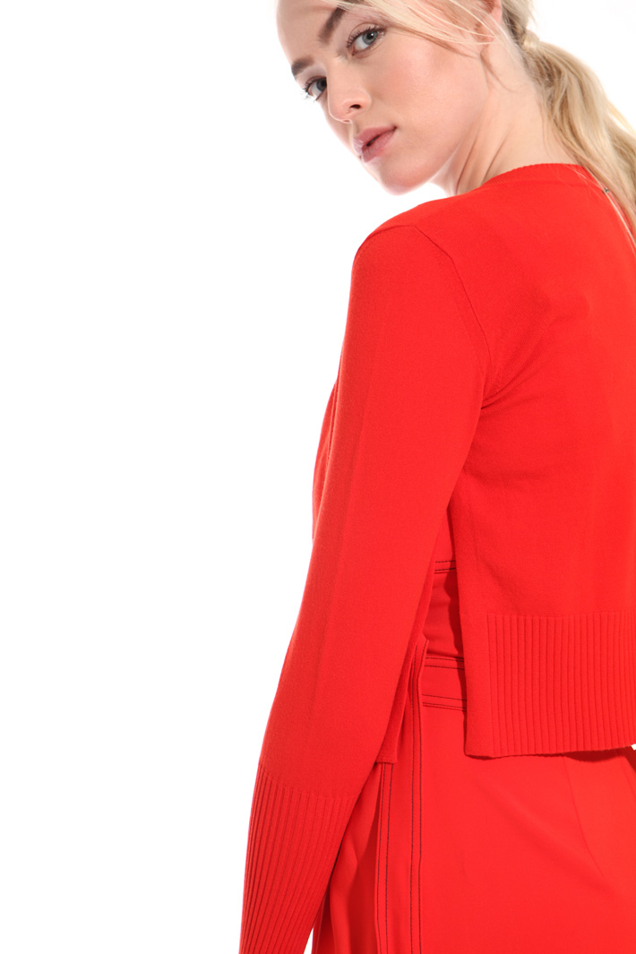 Stretch viscose shrug Intrend