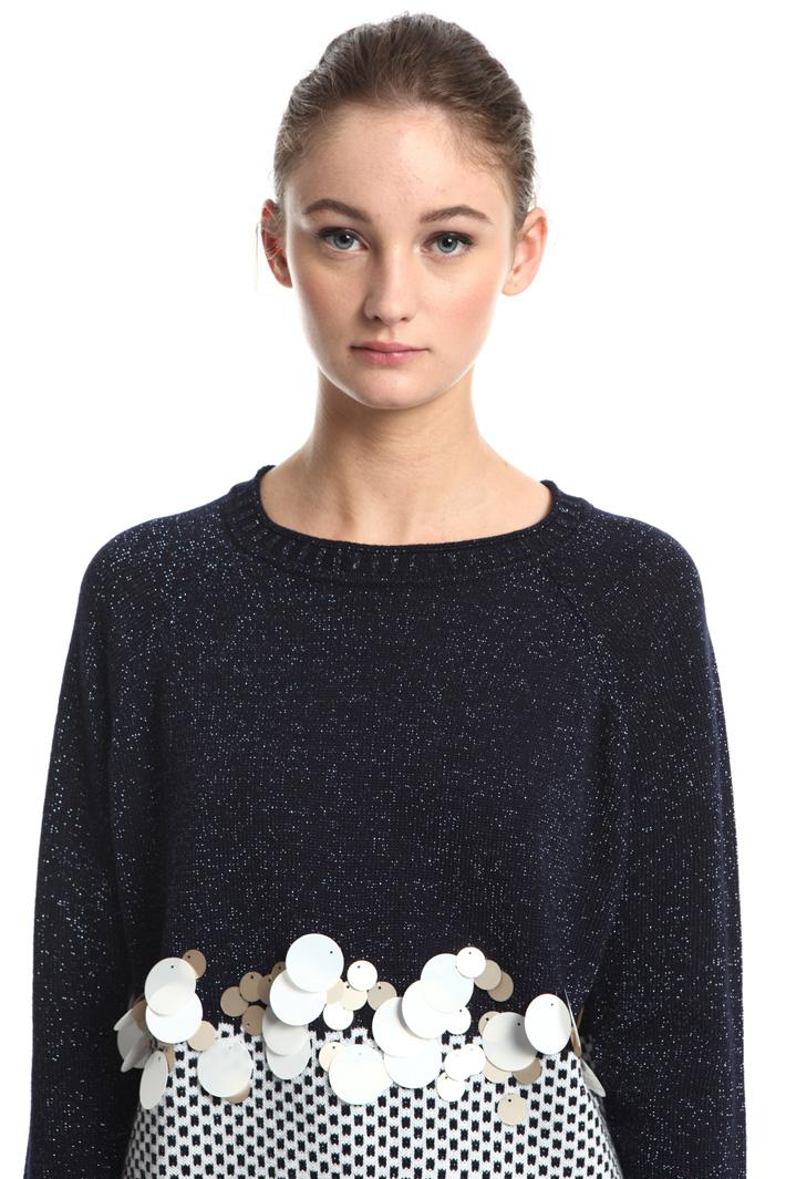 Wool yarn sweater Intrend