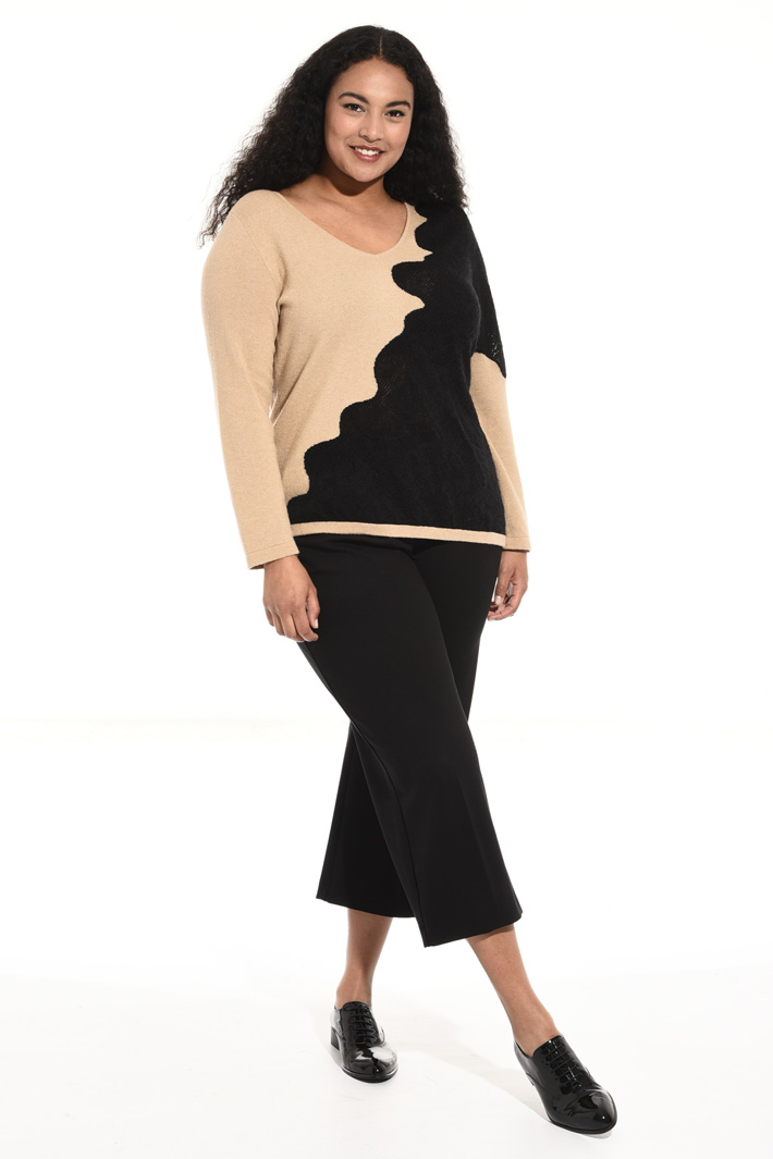 Viscose and cashmere sweater Intrend