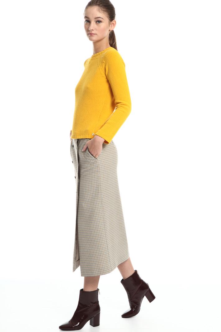 Chenille sweater Intrend