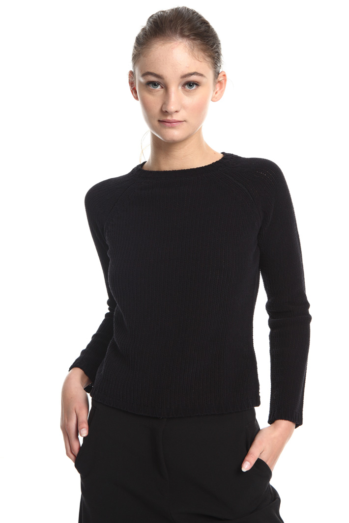 Chenille sweater Intrend