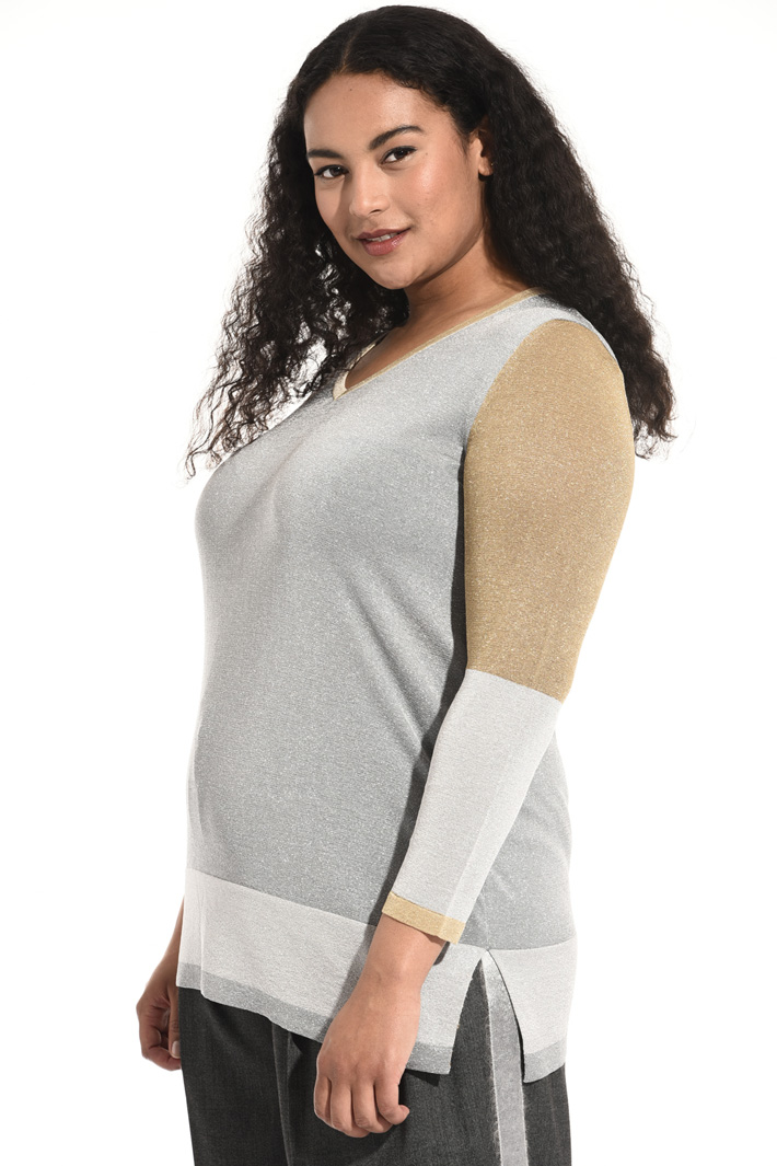 Lurex yarn sweater Intrend