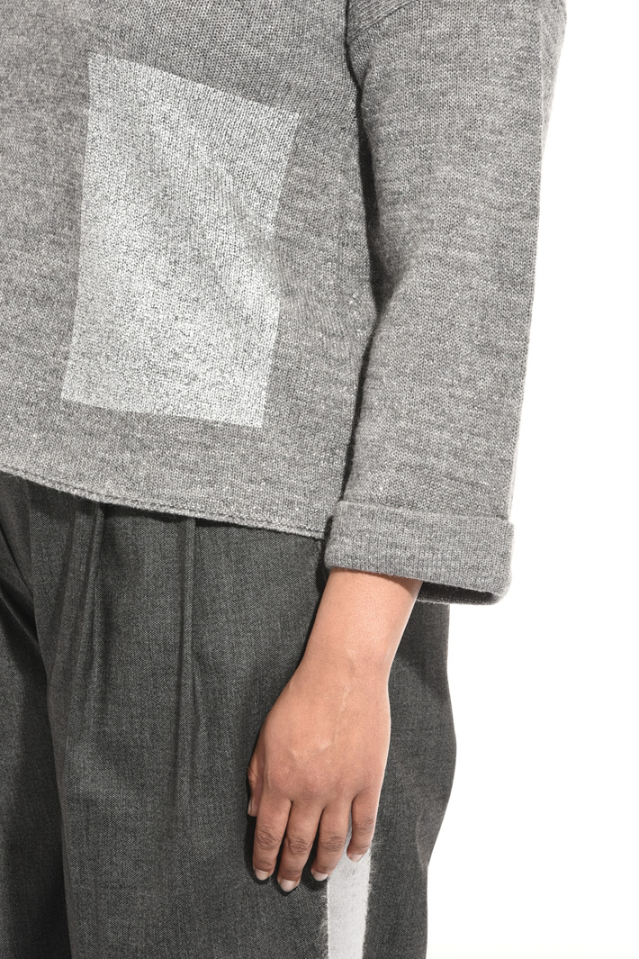 Alpaca and lurex sweater Intrend