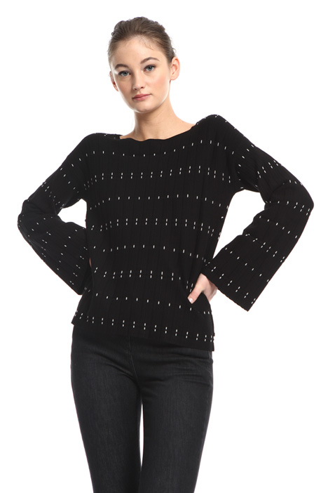 Flared sleeve sweater Intrend