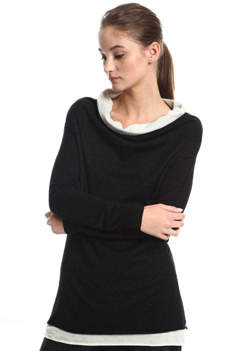 Long wool sweater Intrend