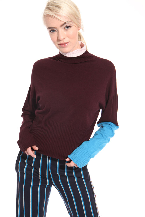 Colour block sweater Intrend