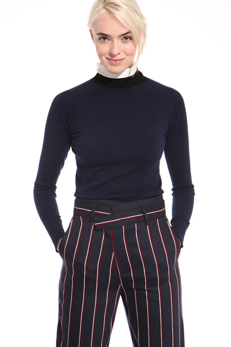 Wool and viscose turtleneck Intrend