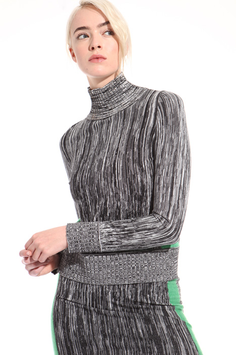 Slub-effect sweater Intrend