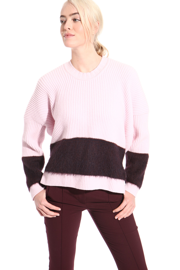 Angora wool sweater  Intrend