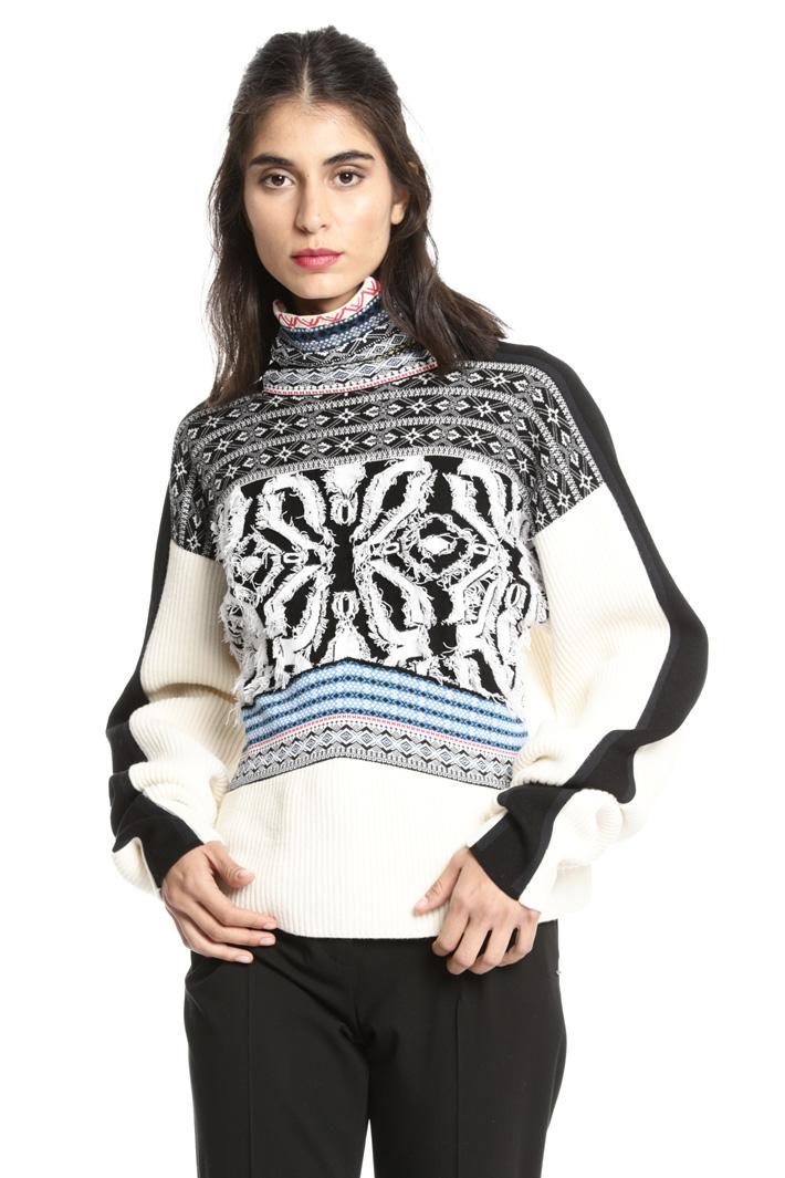 Jacquard sweater Intrend