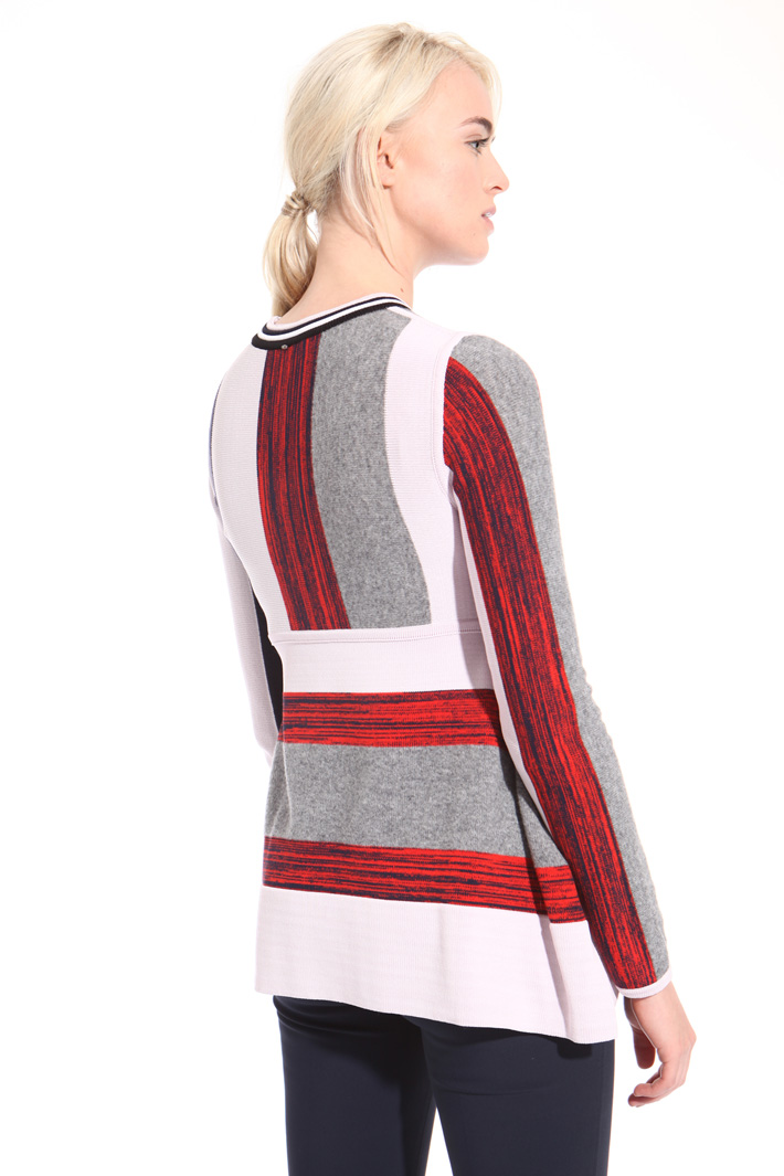 Striped wool sweater  Intrend