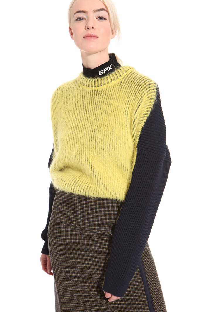 Ribbed alpaca sweater  Intrend