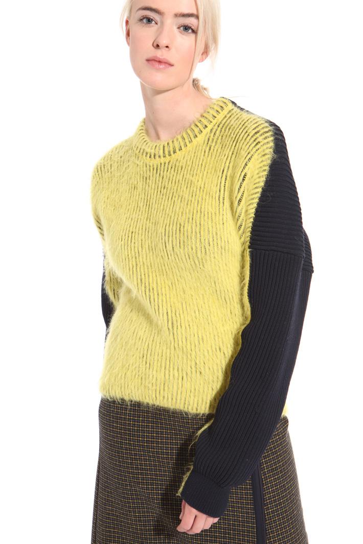 Ribbed alpaca sweater  Intrend