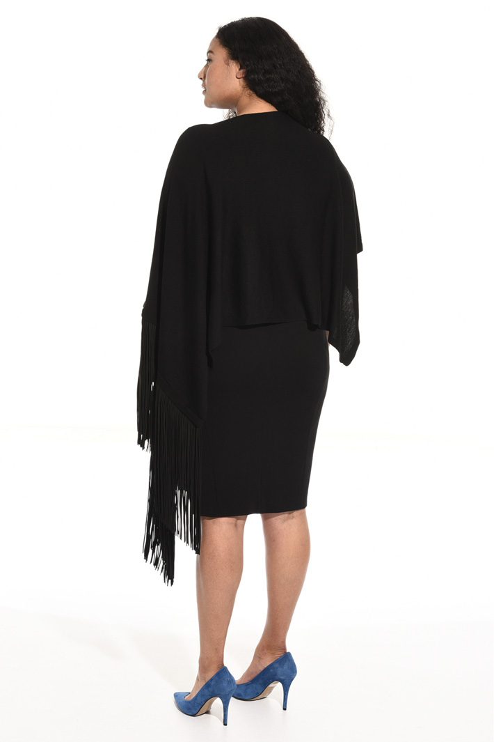 Pure wool cape Intrend