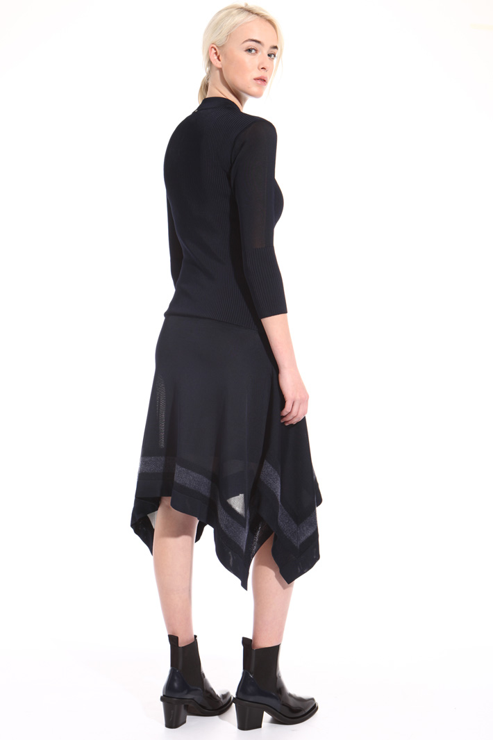 Knit viscose dress Intrend