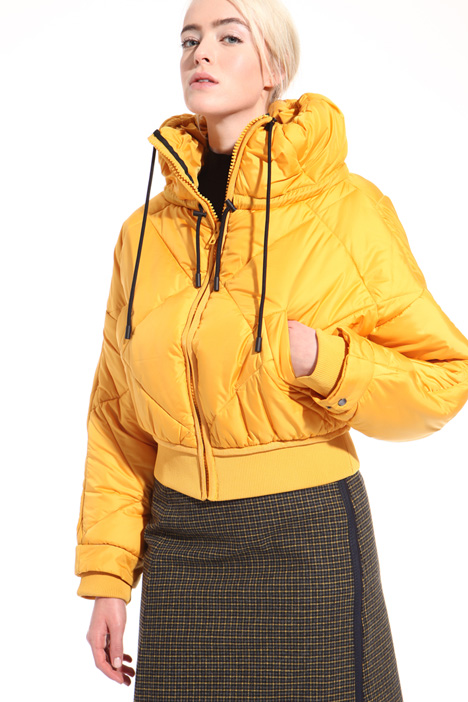 Quilted padded bomber  Intrend