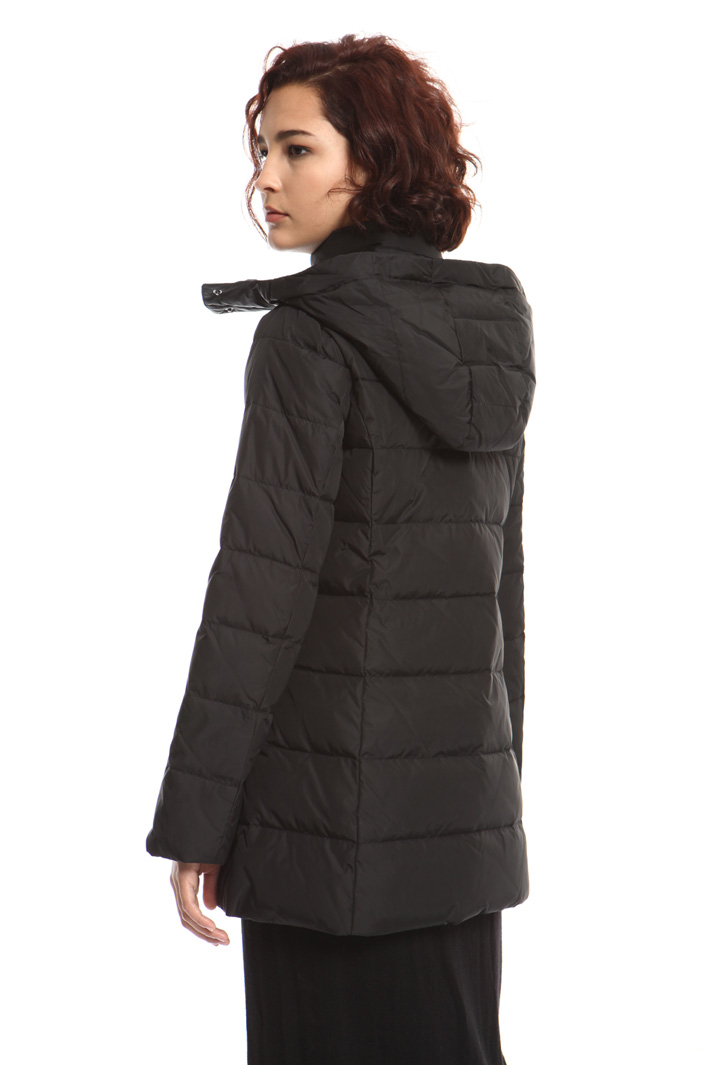 Technical canvas down jacket Intrend