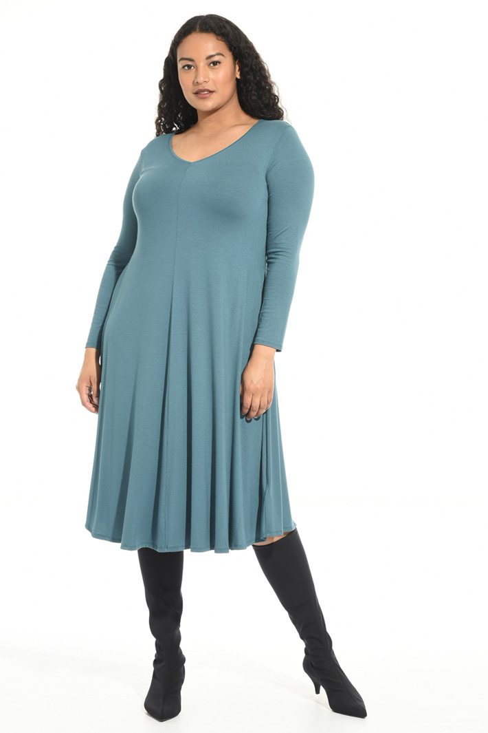 Flared jersey dress Intrend