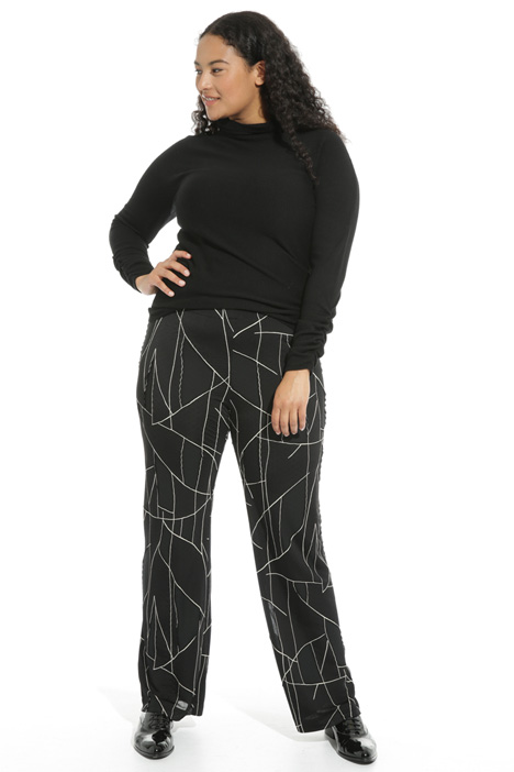 Devore jersey trousers Intrend