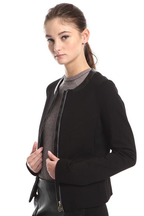 Milano stitch jersey jacket Intrend