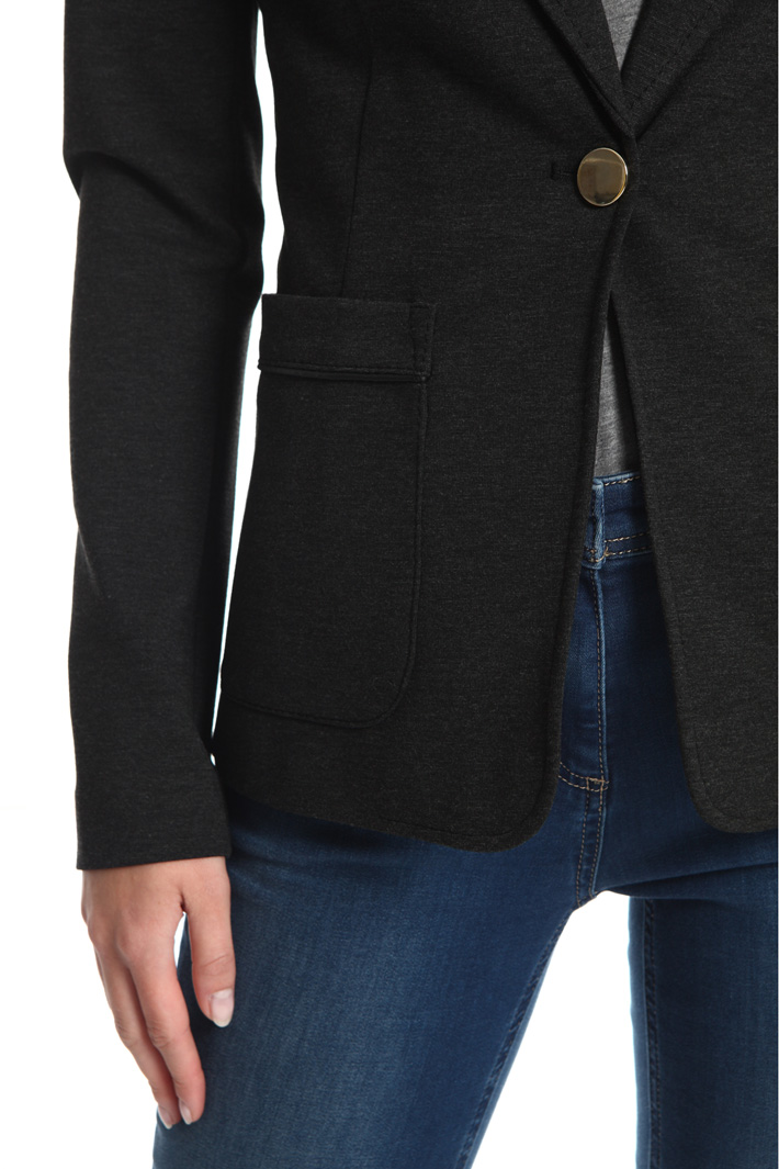Milano stitch jersey blazer Intrend