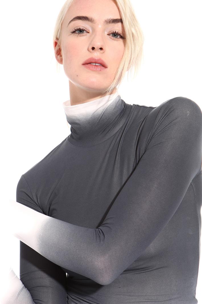 High neck degrade top Intrend