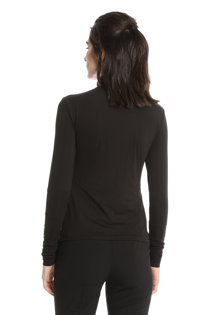 Stretch turtleneck top  Intrend
