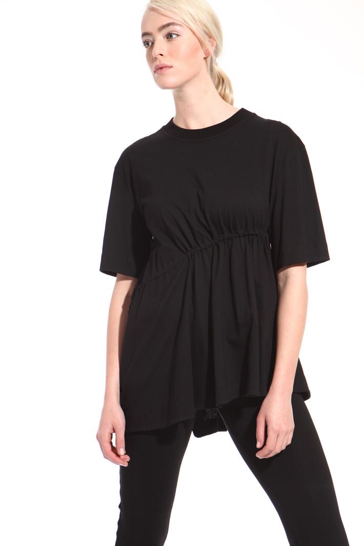 Oversized drawstring T-shirt  Intrend