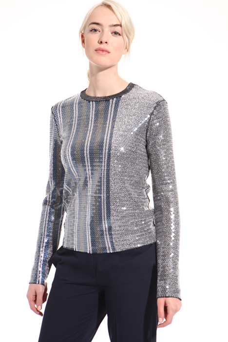 Sequin lurex sweater Intrend