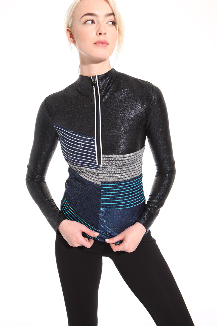 Lurex jersey sweater Intrend