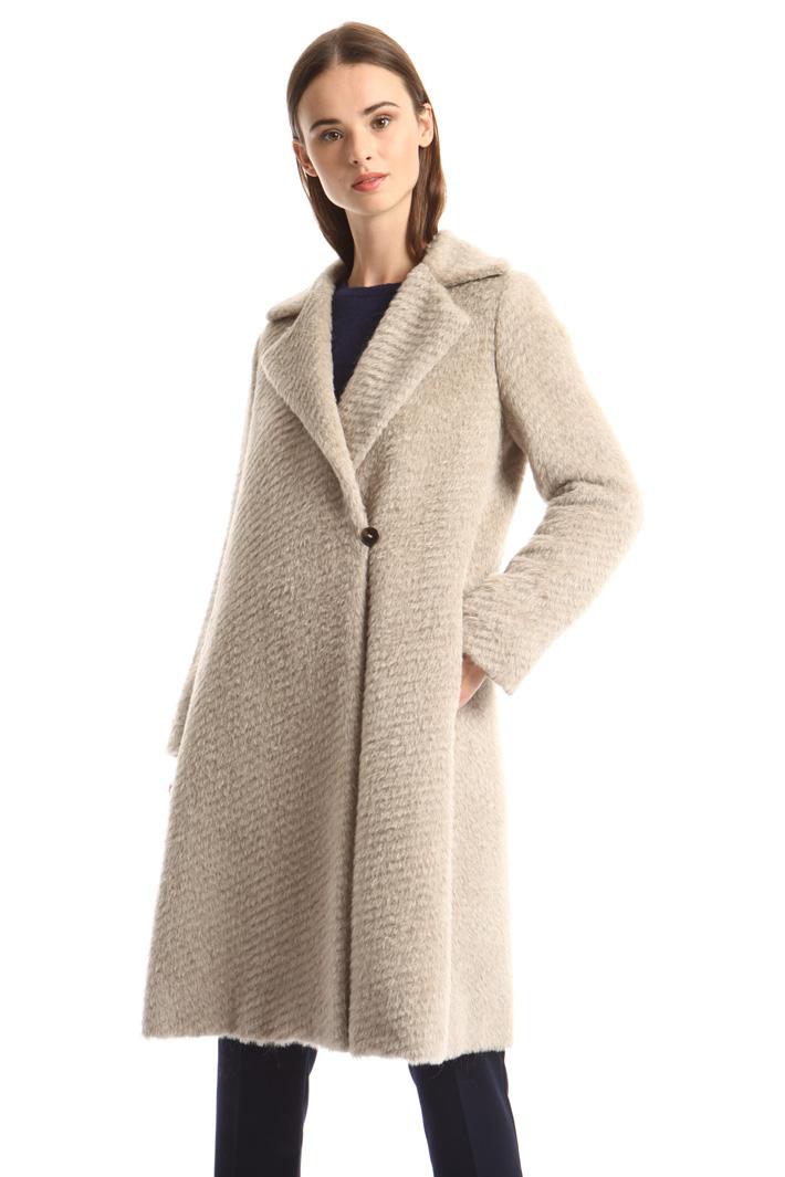 Alpaca blend coat Intrend