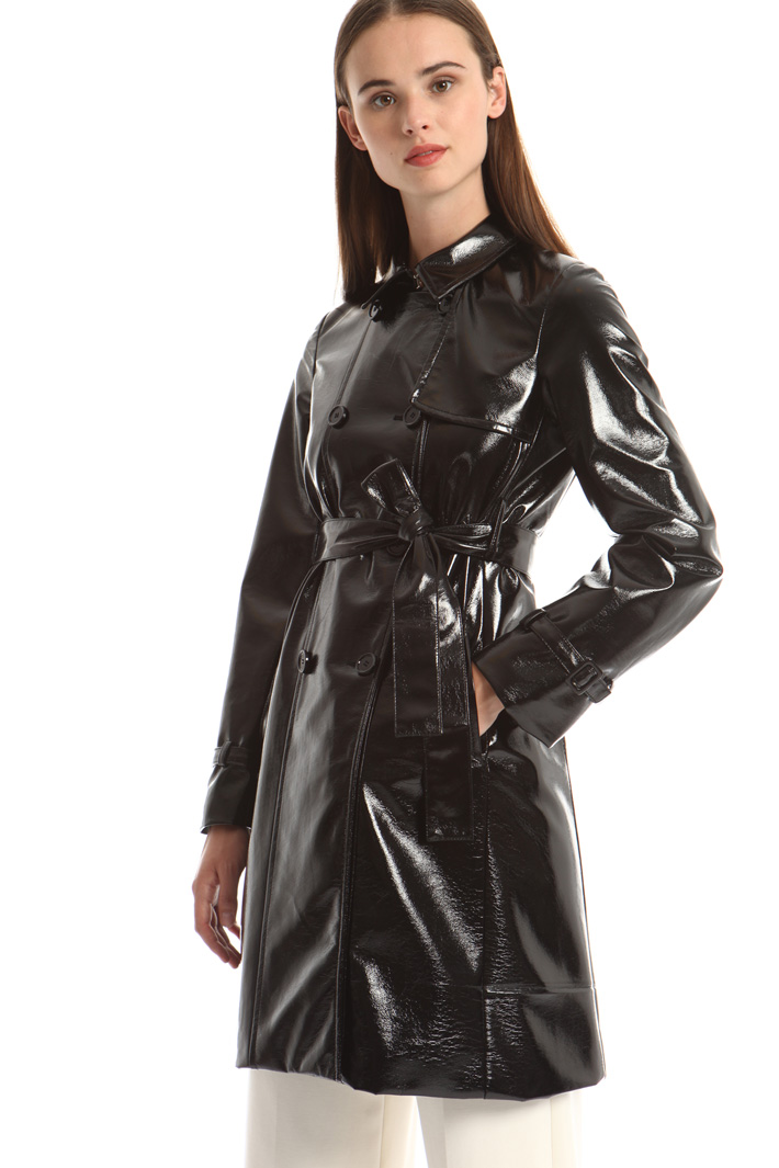 Coated trench coat Intrend