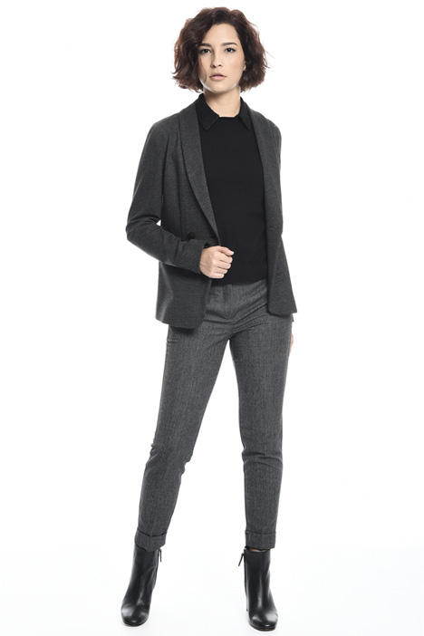 Compact jersey blazer  Intrend