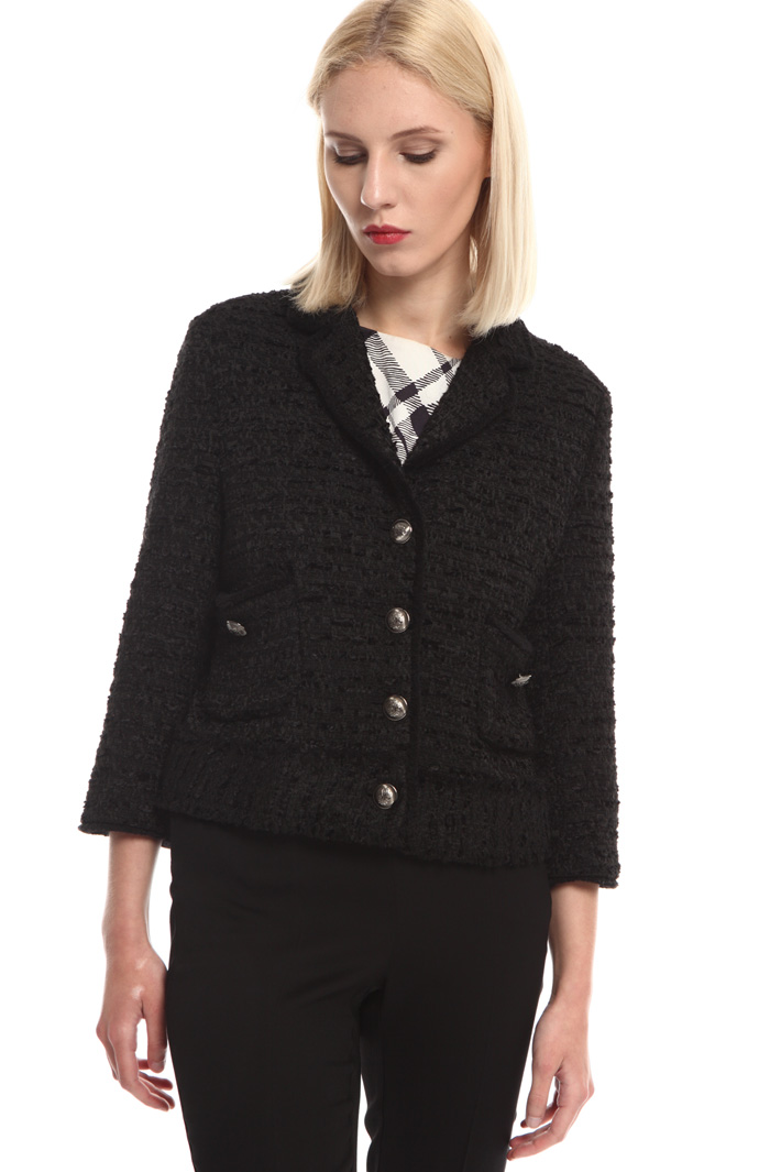 Woven boxy-fit jacket Intrend