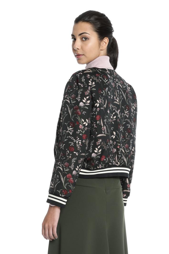 Jacquard bomber jacket Intrend